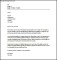 2 Weeks Notice Period Letter Template PDF Format