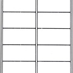 2×4 Shipping Label Template
