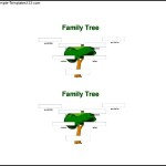 3rd Generation Family Tree Sample Word Free