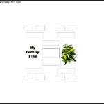4 Generation Family Tree PDF Format Free