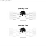 5 Generation Simple Family Tree Free Word