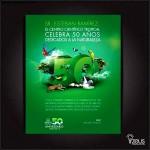 50th Anniversary Invitation Templates