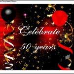 50th Birthday Invitation Examples