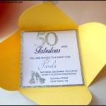 50th Birthday Invitation Sample