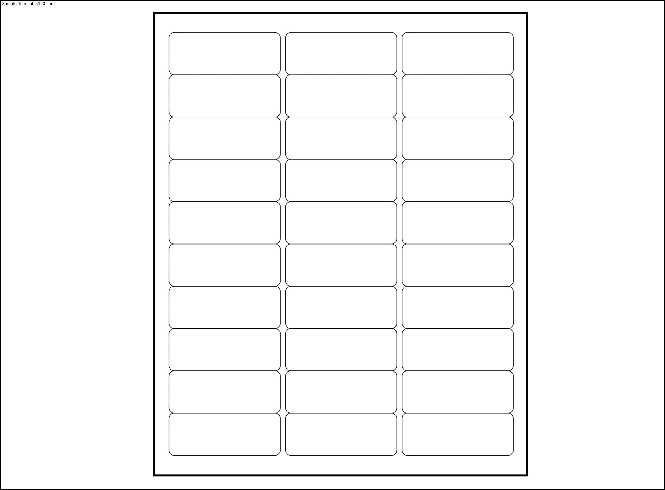 Free Template For Mailing Labels 5160 Mailing Label