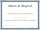 Above & Beyond Award Certificate Template