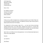 Acceptance of Offer Letter Format Free Download