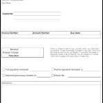 Account Due Collections Form Template