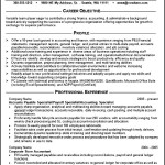 Accounting Resume Example Template
