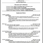 Accounting Resume Template Download