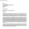 Admission Confirmation Letter