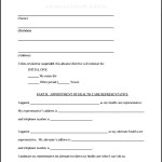 Advance Health Directive Form
