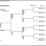 Ancestral Family Tree Chart Free PDF Format