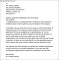Apartment Residential Lease Termination Letter