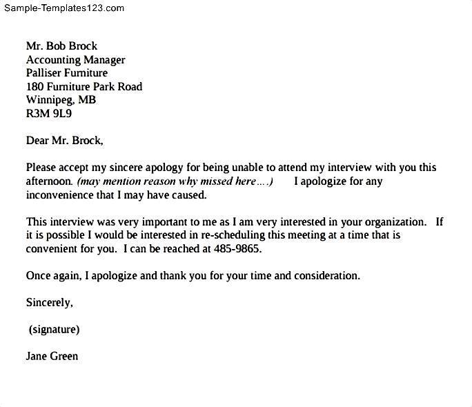 Sample Apology Email] Sample Apology Letter Templates 13 Free Word ...