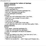 Apology Letter Format to Boyfriend