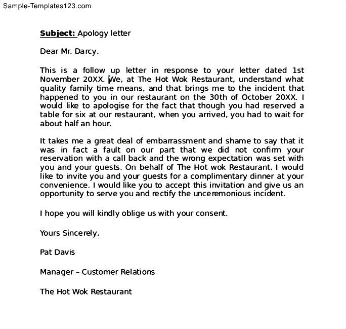Apology Letter To Customer For Delay In Delivery  Sle Apology