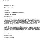 Apology Letter to Principal for Breaking School Rules