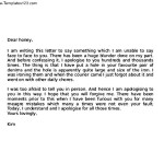 Apology Love Letter to Husband