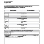 Application for Transfer Letter of Credit Printable