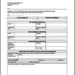 Application for Transfer Letter of Credit Printable
