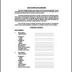 Asset List Template Excel Free