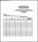 Attendance List Template Excel