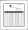 Attendance List Template Word Free