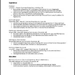 Audio Visual Engineer Resume