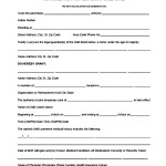 Authorization For Temporary Child Care