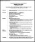 Automobile Resume Free PDF