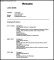 Automobile Resume Template Download