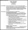 BPO Resume Template Samples