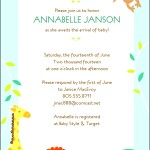Baby Shower Invitation Template Free Download