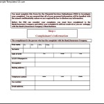 Banking Services Ombudsman Complaint Form