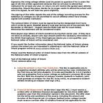 Baseball National Letter of Intent Template Printable Sample