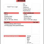 Basic Invoice Template Free