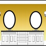 Bathroom Elevation Sample Template