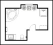 Bathroom Plan Template