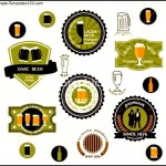 Beer Badges And Labels