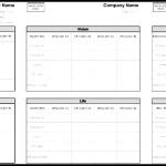 Benefits Analysis Sheet Template
