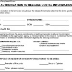 Best Example For Generic Medical Records Release Form