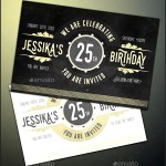 Birthday Invitation Template Printable