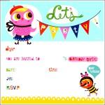Birthday Invitation Template for Kids