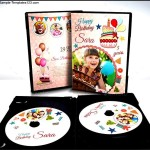 Birthday Party DVD Label Templates