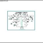 Blank Large Family Tree Sample Word Free