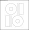 Blank Memorex CD Label Template