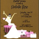 Bridal Shower Invitations Wording Example