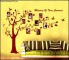 Brown Photo Family Tree Wall Decal Sample Template
