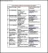 Business Email List Template Free